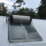 Planet home Brisbane ENvirosun solar hot water installation
