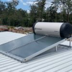 Envirosun solar hot water plonk for the Brisbane Roonsleigh builders